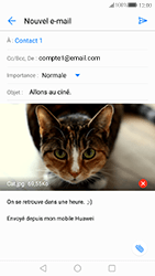 Huawei P10 - E-mail - envoyer un e-mail - Étape 15