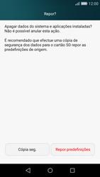 Huawei P8 Lite - Repor definições - Como repor definições de fábrica do telemóvel -  7