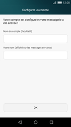 Huawei P8 Lite - E-mail - Configurer l