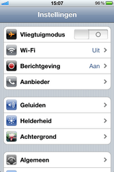 Apple iPhone 4 - WiFi - Handmatig instellen - Stap 3