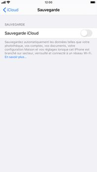Apple iPhone 7 Plus - iOS 13 - Données - créer une sauvegarde avec votre compte - Étape 10