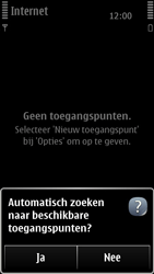 Nokia 500 - Internet - Handmatig instellen - Stap 9