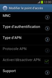 Samsung S6810P Galaxy Fame - Internet - configuration manuelle - Étape 16