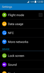 Samsung G357 Galaxy Ace 4 - Internet - Disable mobile data - Step 4