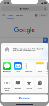 Apple iPhone X - Dados - Utilizar o web browser -  17
