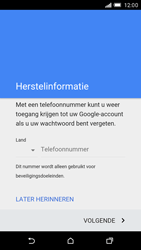HTC One M9 - Applicaties - Account aanmaken - Stap 8