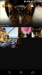 Sony Xperia E4g - Photos, vidéos, musique - Envoyer une photo via Bluetooth - Étape 4