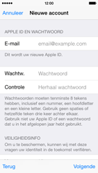 Apple iPhone 5 iOS 8 - Applicaties - Account aanmaken - Stap 13