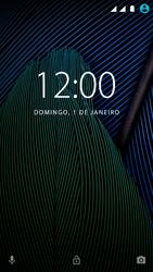 Motorola Moto G5 - Funções básicas - Como reiniciar o aparelho - Etapa 6