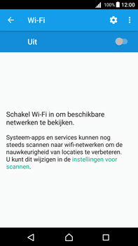 Sony Xperia Z5 Premium - Android Nougat - Wifi - handmatig instellen - Stap 4