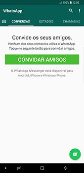 Samsung Galaxy Note 8 - Android Oreo - Aplicações - Como configurar o WhatsApp -  14