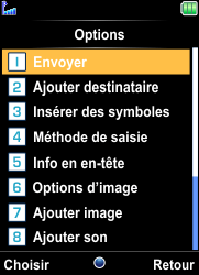Bouygues Telecom Bc 101 - Contact, Appels, SMS/MMS - Envoyer un MMS - Étape 23