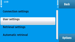 Nokia N97 - E-mail - Manual configuration - Step 28