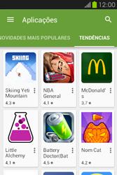 Samsung Galaxy Fame - Aplicações - Como pesquisar e instalar aplicações -  12