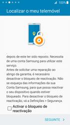 Samsung Galaxy S6 Edge - Primeiros passos - Como ligar o telemóvel pela primeira vez -  19