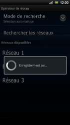 Sony Ericsson Xperia Ray - Réseau - Utilisation à l