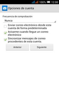 Alcatel Pop C9 - E-mail - Configurar correo electrónico - Paso 20
