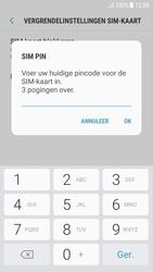 Samsung Galaxy A5 2016 (SM-A510F) - Android Nougat - Beveiliging en ouderlijk toezicht - Hoe wijzig ik mijn SIM PIN-code - Stap 8