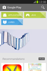 Samsung S6310 Galaxy Young - Applications - Télécharger des applications - Étape 24