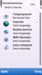 Nokia C5-03 - Internet - handmatig instellen - Stap 7