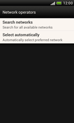 HTC T328e Desire X - Network - Usage across the border - Step 6