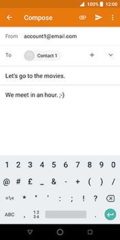 ZTE Blade V9 - E-mail - Sending emails - Step 9