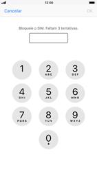 Apple iPhone 8 - Segurança - Como ativar o código PIN do cartão de telemóvel -  6