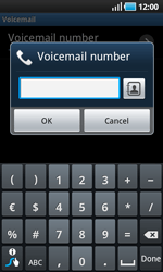 Samsung I9000 Galaxy S - Voicemail - Manual configuration - Step 7