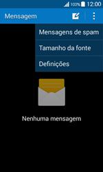 Samsung Galaxy Ace 4 - SMS - Como configurar o centro de mensagens -  5