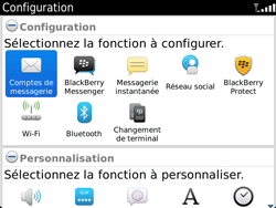 BlackBerry 9900 Bold Touch - E-mail - Configuration manuelle - Étape 4