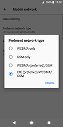 Sony Xperia XZ2 Compact - Network - Change networkmode - Step 8