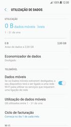 Samsung Galaxy S7 Edge - Android Nougat - Internet no telemóvel - Como ativar os dados móveis -  7