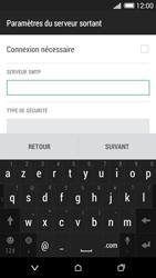 HTC Desire 620 - E-mail - Configuration manuelle - Étape 15