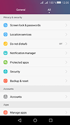 Huawei Y6 II Compact - Device - Reset to factory settings - Step 4