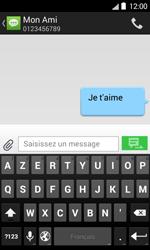 Bouygues Telecom Bs 403 - Contact, Appels, SMS/MMS - Envoyer un SMS - Étape 10