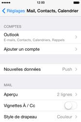 Apple iPhone 4 - E-mails - Ajouter ou modifier votre compte Outlook - Étape 9