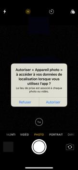 Apple iPhone XS - iOS 12 - Photos, vidéos, musique - Prendre une photo - Étape 3