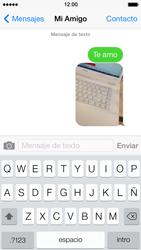 Apple iPhone 5s - Mensajería - Escribir y enviar un mensaje multimedia - Paso 14