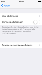 Apple iPhone SE - iOS 10 - Internet - Configuration manuelle - Étape 6