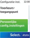 Nokia C1-01 - Internet - handmatig instellen - Stap 6