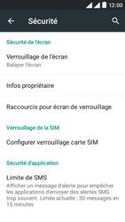 Wiko Rainbow Lite 4G - Sécuriser votre mobile - Activer le code de verrouillage - Étape 5
