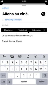Apple iPhone 7 Plus - iOS 13 - E-mail - envoyer un e-mail - Étape 8