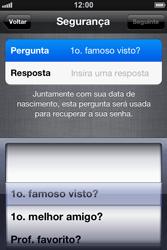 Apple iPhone iOS 5 - Primeiros passos - Como ativar seu aparelho - Etapa 18