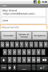 Alcatel OT-991 Smart - E-mail - hoe te versturen - Stap 7