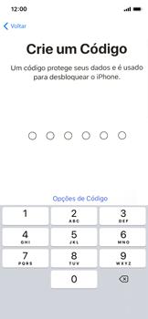 Apple iPhone iOS 12 - Primeiros passos - Como ativar seu aparelho - Etapa 11
