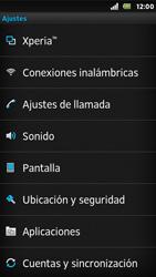 Sony Xperia U - Funciones básicas - Activar o desactivar el modo avión - Paso 4
