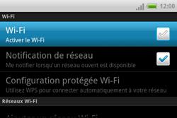 HTC A810e ChaCha - Wifi - configuration manuelle - Étape 5