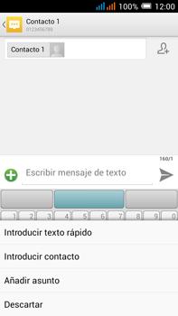 Alcatel Pop C9 - Mensajería - Escribir y enviar un mensaje multimedia - Paso 10