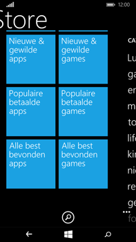 Microsoft Lumia 640 XL - Applicaties - Downloaden - Stap 8