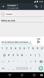 Motorola Moto G 3rd Gen. (2015) - MMS - Envoi d